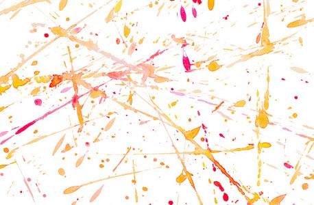 Colorful watercolor stripe background isolated on background, blot, spray, drops