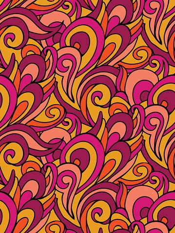 abstract swirl pattern colorful waves