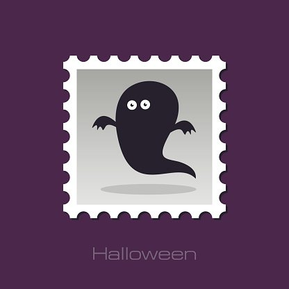 Halloween Ghost stamp