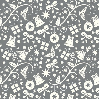 Seamless pattern Christmas