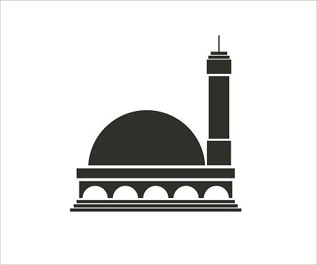 mosque simple icon