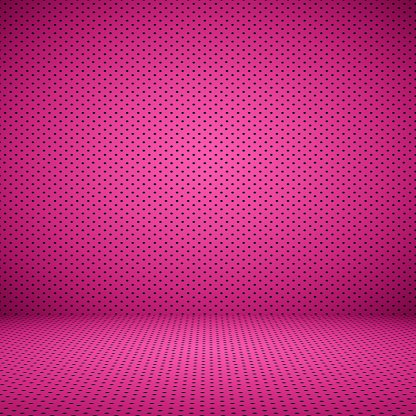 abstract Pink well using as background Valentine with Polka Dot