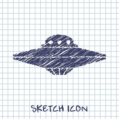 UFO Flying Saucer Icon
