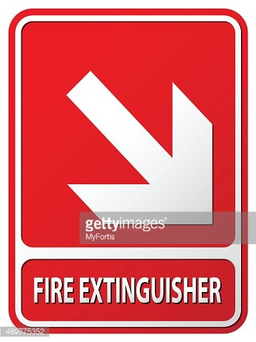 Fire Extinguisher Direction