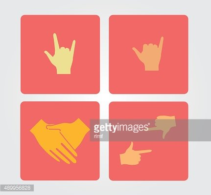 Simple Icon: hand