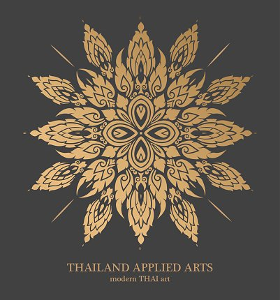 Thai art element for design