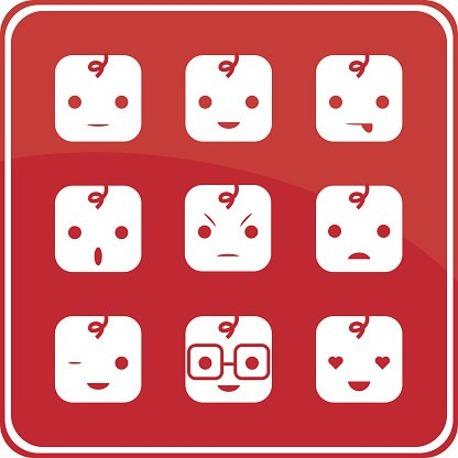 Baby Face Expression Icons