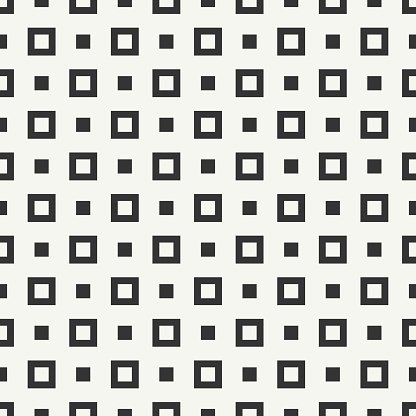 Geometric line hipster seamless pattern with square, cube. Wrapping paper.