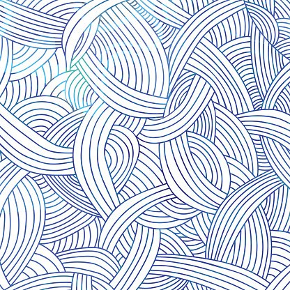 Abstract hand-drawn pattern, striped doodle background. Watercolor backdrop. Vector illustration