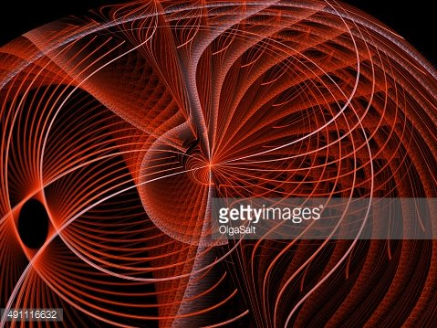 Abstract red background texturred disk