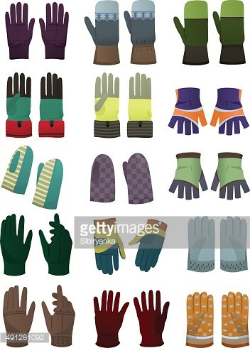 Men's gloves and mittens