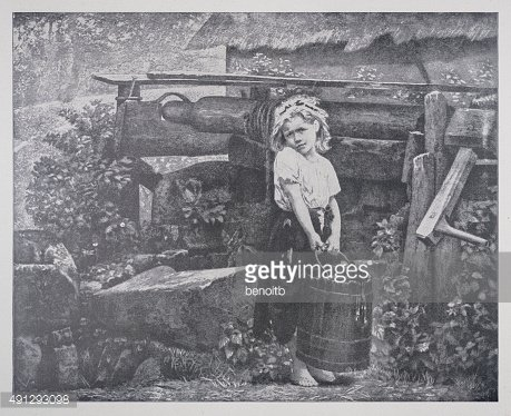 Little Girl At The Well