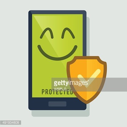 Smart Phone Protected With Anti Virus