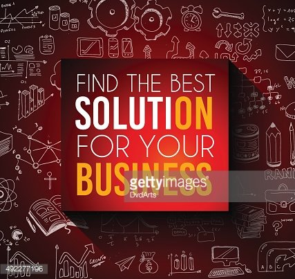 Conceptual background: find the best solution for your business.