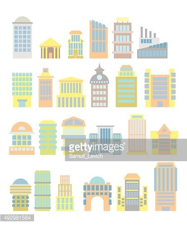 Set Business Property: shopping center and hospital. Tower and a
