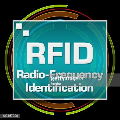 RFID Black Technical Circle