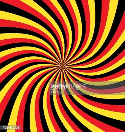 Twisted tricolor background
