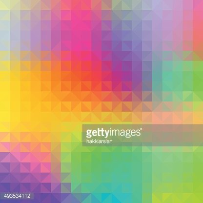 Colorful abstract geometric background.