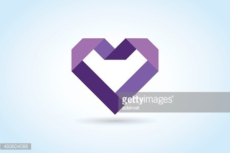 Heart icons vector icon