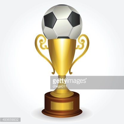 Ball and trophy
