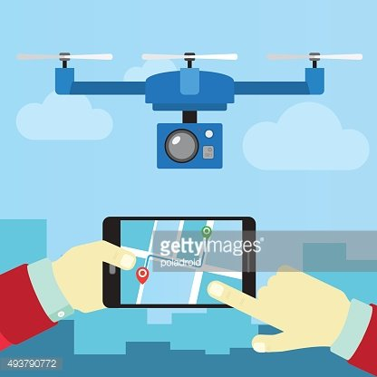 control quadrocopters from phone