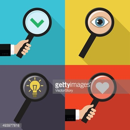 Set of searching concepts