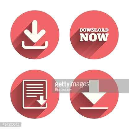 Download now signs. Upload file document icon