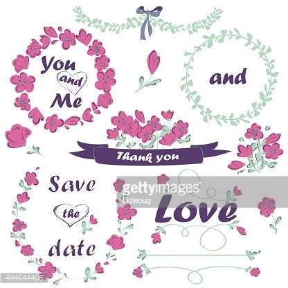 Wedding and Valentines Day collection