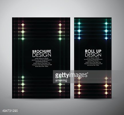 Abstract squares shining pattern. Brochure business template or roll up.
