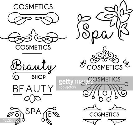 Vector Beauty and Care logo Templates