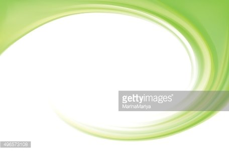 Vector abstract lime spiral background