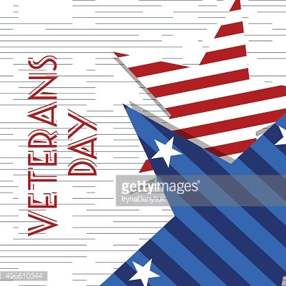 Stars with U.S.A Flag in style vector. Creative