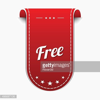 Free Collection Red Vector Icon Design
