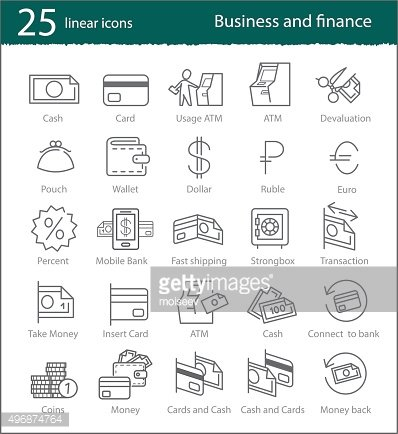 Vector banking, electronic commerce, finance and business linear