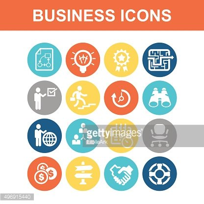 Business concept icon