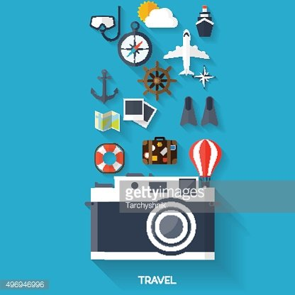 Balloon icon. World travel concept background. Flat icons. Tourism.Holidays