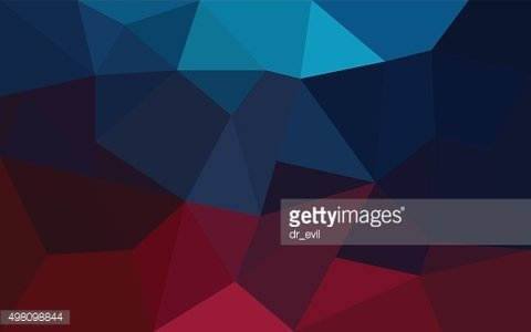 Abstract red and blue geometrical background