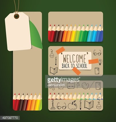 Welcome back to school with Sale Coupon, voucher,