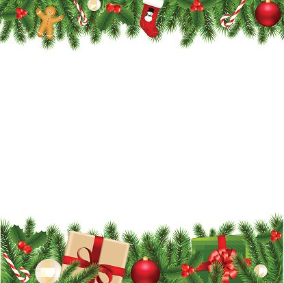 Christmas Borders Clipart.Merry Christmas Borders Clipart Image 1 566 198 Clip Arts