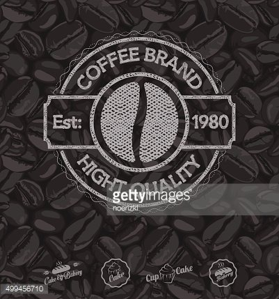 Design Coffee Brand Labels