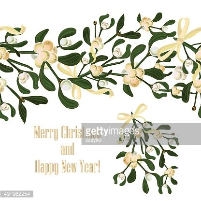 Set festive garlands of holly berry