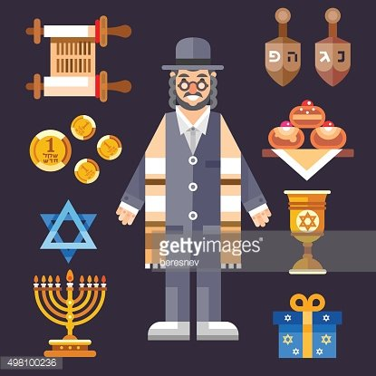 Hanukkah! Great world wide jewish holiday.