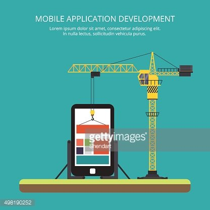 building mobile applications using a tower crane