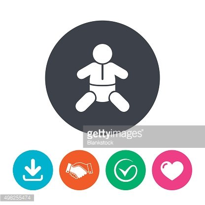 Baby infant sign icon. Toddler boy symbol