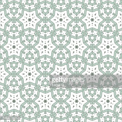 Christmas decorative pattern of blue snowflakes