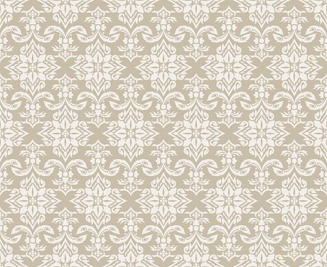 Vector damask seamless pattern background.backgrounds and page fill., old color