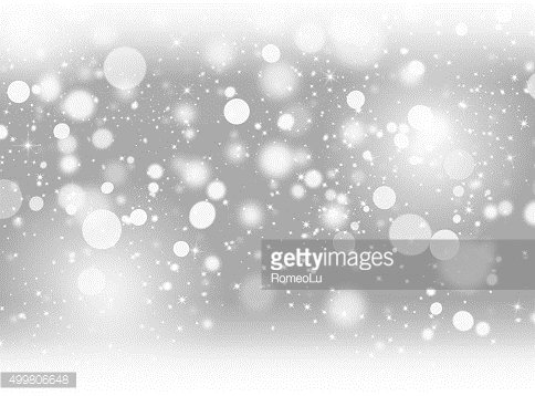 Grey snowing background
