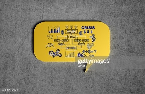 speech bubble with drawing business concept