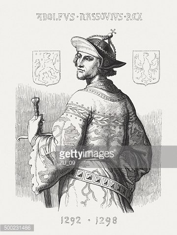 Adolf of Germany (c. 1255-1298), published in 1876