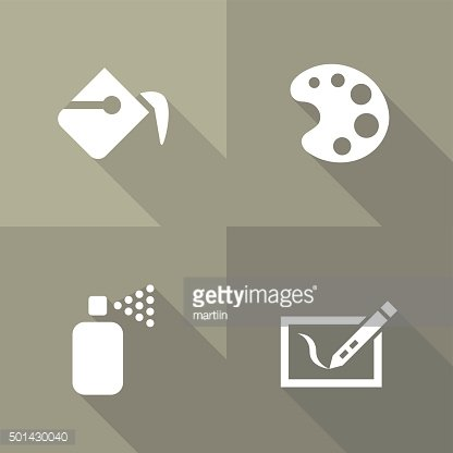 Vector Flat Icons - Graphics